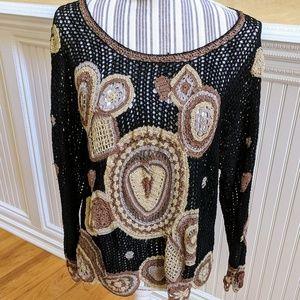 Beautiful Hand Knit Sweater.